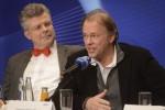 Dirigent Thomas Hengelbrock (r.)