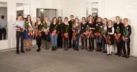Teilnehmer Violin-Förderwettbewerb 2012