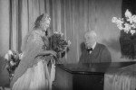 Richard Strauss mit Sängerin