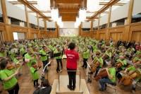 """Symphonic Mob"" des DSO Berlin"