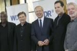 WDR-Intendant mit den Chefdirigenten