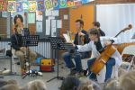 Musiker des Beethoven-Orchesters in der Donatusschule