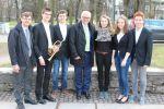 BJO-Musiker mit Außenminister