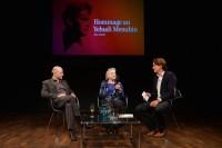 Pressekonferenz mit Zamira Menuhin-Benthall
