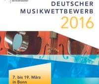 Plakat Deutscher Musikwettbewerb