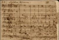 Autograph h-Moll-Messe