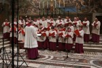 Chor der Sixtinischen Kapelle