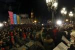 Kundgebung vor der Semperoper