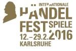 Haendel-Festspiele Karlsruhe 2016