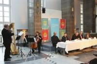 Pressekonferenz mit Kammertrio