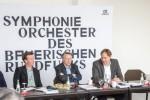 Pressegespräch BR-Symphonieorchester