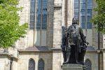 Bach-Statue Leipzig