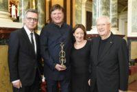 Thomas de Maizière, Christian Thielemann, Susanne und Rudi Häussler