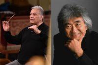 Zubin Mehta, Seiji Ozawa