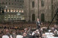 Konzert vor dem Mailänder Dom