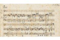 Matthäus-Passion, Manuskript von Mendelssohn