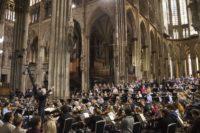 Probe Berlioz-Requiem im Kölner Dom
