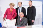 Unterzeichnung Hauptstadtfinanzierungsvertrag