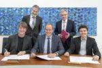 Unterzeichnung Vertragsverlängerung