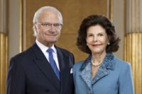 King Carl Gustav and Queen Silvia
