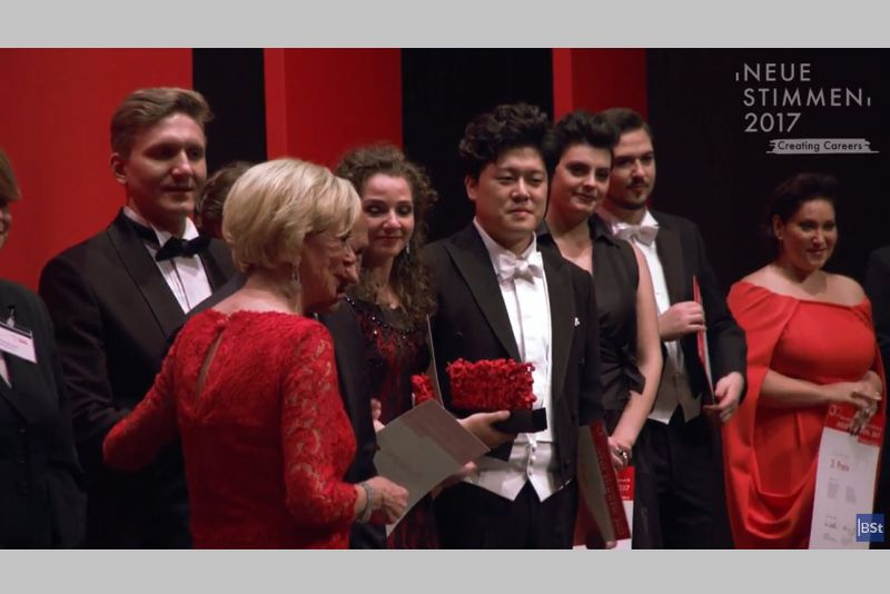 Stoyanova und Cho gewinnen Gesangswettbewerb