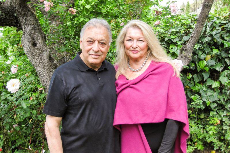 Zubin Mehta Ehefrau