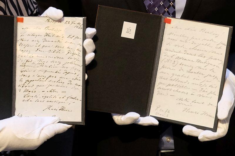 Briefe Von Tolkien : Düsseldorf erwirbt briefe von heine an berlioz musik heute