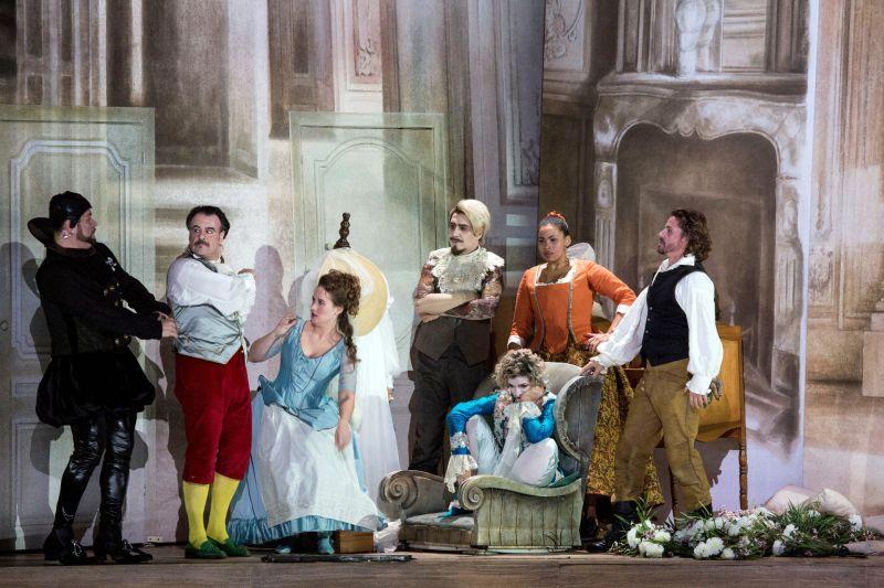 Le Nozze Di Figaro Aus Der Mailander Scala Musik Heute
