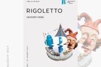 """Plakat """"Rigoletto"""""""