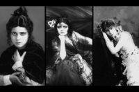 Carmen (Mi.), Violetta (re.), Mimi (li.)