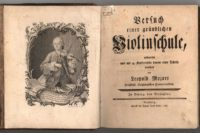 Leopold Mozarts Violinschule