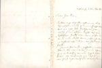 Brief von Robert Schumann