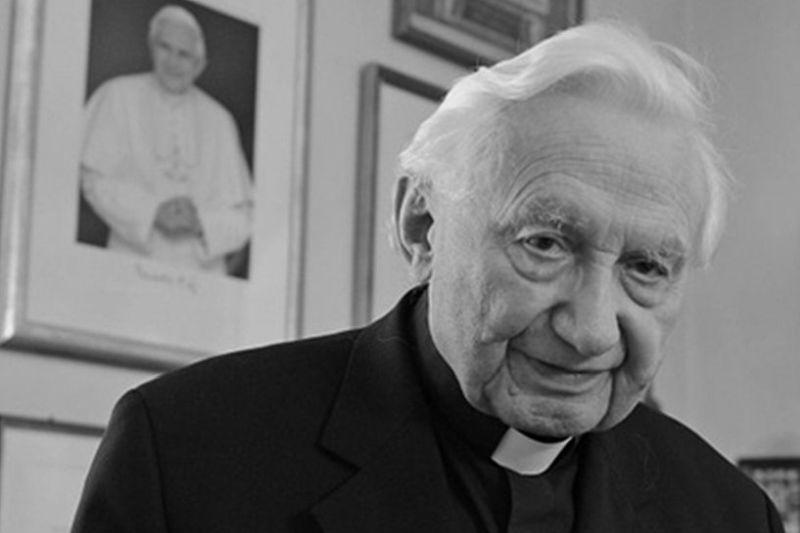 Georg Ratzinger Todesanzeige