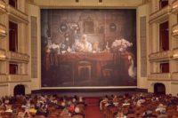Eiserner Vorhang 2020/21 der Wiener Staatsoper