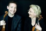 Antje Weithaas (r.) und Oliver Wille