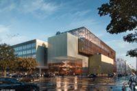 Umbau-Entwurf für Komische Oper Berlin