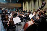 Lena-Lisa Wüstendörfer mit ihrem Swiss Orchestra