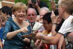 Bundeskanzlerin Merkel in Bayreuth